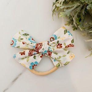 Accessories - New Soft elastic hair band bow